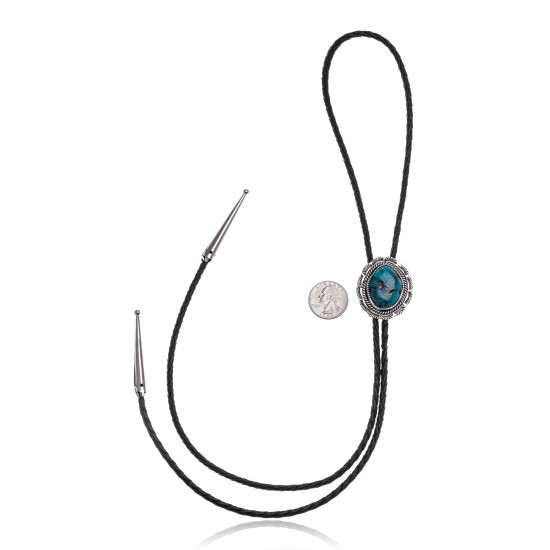 Sun .925 Sterling Silver Certified Authentic Handmade Navajo Native American Bolo Tie 24558 All Products NB180620190517 24558 (by LomaSiiva)