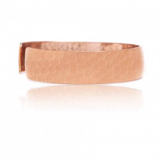 Pure Copper Certified Authentic Handmade Navajo Native American Hammered Cuff Bracelet 12875 All Products NB151121035043 12875 (by LomaSiiva)