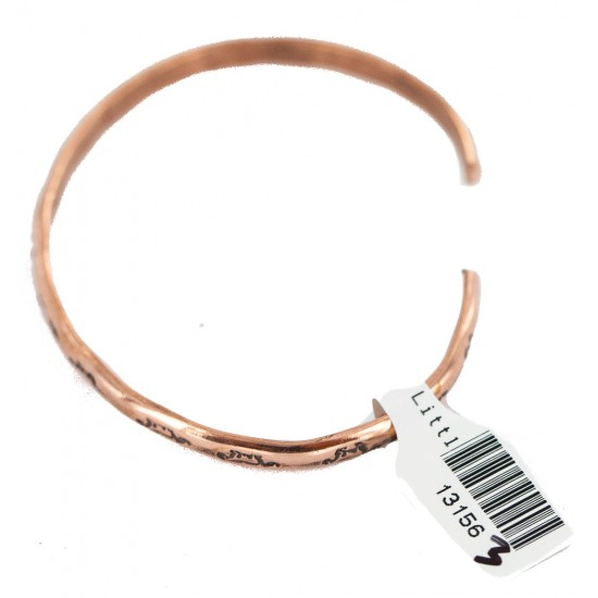 Certified Authentic Horse Handmade Navajo Native American Pure Copper Bracelet 13156-3 All Products NB160423012118 13156-3 (by LomaSiiva)