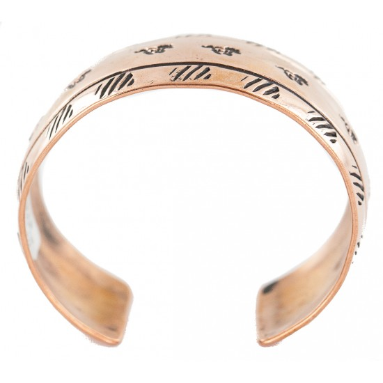 Certified Authentic Horse Handmade Navajo Native American Pure Copper Bracelet 13162 All Products NB160430005659 13162 (by LomaSiiva)