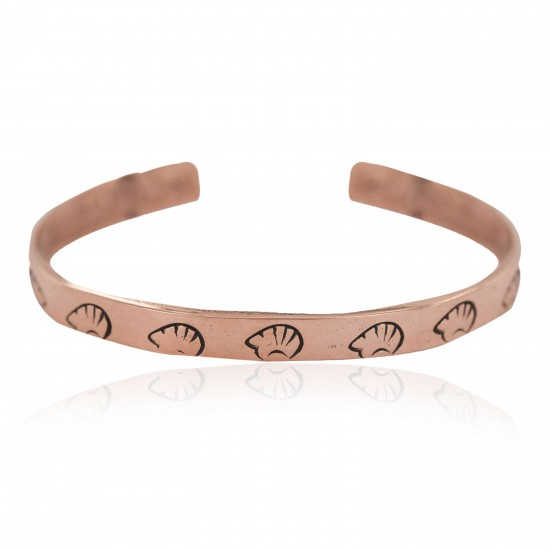 Certified Authentic Bear Handmade Navajo Native American Pure Copper Bracelet 24492-3 All Products NB160406053448 24492-3 (by LomaSiiva)