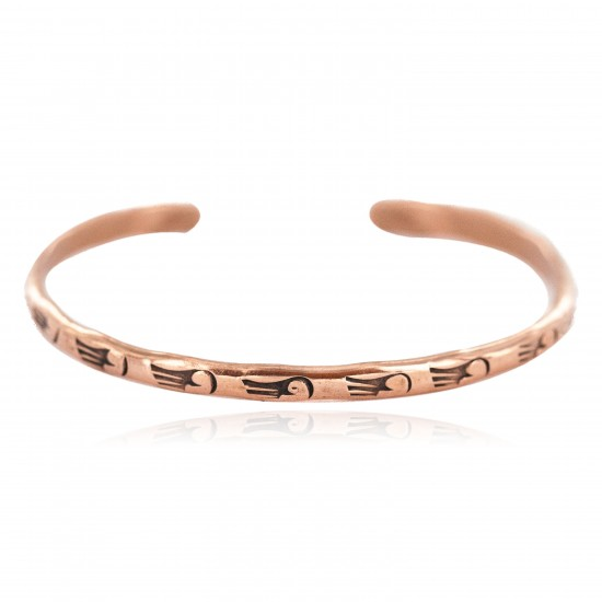 Certified Authentic Bear Paw Handmade Navajo Native American Pure Copper Bracelet 18299 All Products NB160602221605 18299 (by LomaSiiva)